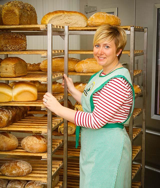 Brote frisch aus der Backstube auf dem Hof Hagedorn