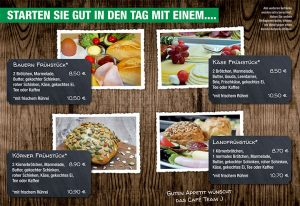 Hof Hagedorn Frühstückskarte 2021